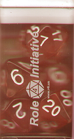 Spirit Games (Est. 1984) - Supplying role playing games (RPG), wargames rules, miniatures and scenery, new and traditional board and card games for the last 20 years sells Diffusion Dice Set: Cherry