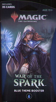 Spirit Games (Est. 1984) - Supplying role playing games (RPG), wargames rules, miniatures and scenery, new and traditional board and card games for the last 20 years sells War of the Spark Blue Theme Booster