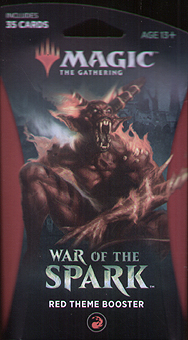 Spirit Games (Est. 1984) - Supplying role playing games (RPG), wargames rules, miniatures and scenery, new and traditional board and card games for the last 20 years sells War of the Spark Red Theme Booster