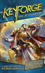 Spirit Games (Est. 1984) - Supplying role playing games (RPG), wargames rules, miniatures and scenery, new and traditional board and card games for the last 20 years sells Keyforge:Age of Ascension Booster