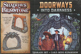 Spirit Games (Est. 1984) - Supplying role playing games (RPG), wargames rules, miniatures and scenery, new and traditional board and card games for the last 20 years sells Shadows of Brimstone: Doorways into Darkness