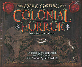 Spirit Games (Est. 1984) - Supplying role playing games (RPG), wargames rules, miniatures and scenery, new and traditional board and card games for the last 20 years sells Dark Gothic Deck Building Game: Colonial Horror