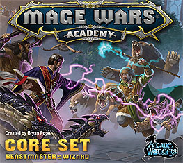 Spirit Games (Est. 1984) - Supplying role playing games (RPG), wargames rules, miniatures and scenery, new and traditional board and card games for the last 20 years sells Mage Wars Academy Core Set: Beastmaster vs Wizard