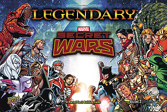 Spirit Games (Est. 1984) - Supplying role playing games (RPG), wargames rules, miniatures and scenery, new and traditional board and card games for the last 20 years sells Legendary Marvel: Secret Wars Volume 2