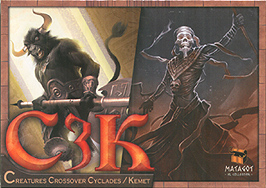 Spirit Games (Est. 1984) - Supplying role playing games (RPG), wargames rules, miniatures and scenery, new and traditional board and card games for the last 20 years sells Cyclades/Kemet: C3K Creatures Crossover