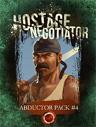 Spirit Games (Est. 1984) - Supplying role playing games (RPG), wargames rules, miniatures and scenery, new and traditional board and card games for the last 20 years sells Hostage Negotiator: Abductor Pack #4