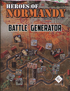Spirit Games (Est. 1984) - Supplying role playing games (RPG), wargames rules, miniatures and scenery, new and traditional board and card games for the last 20 years sells Heroes of Normandy: Battle Generator