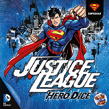 Spirit Games (Est. 1984) - Supplying role playing games (RPG), wargames rules, miniatures and scenery, new and traditional board and card games for the last 20 years sells Justice League: Hero Dice - Superman