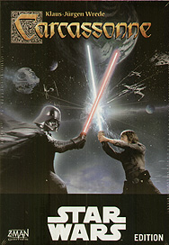 Spirit Games (Est. 1984) - Supplying role playing games (RPG), wargames rules, miniatures and scenery, new and traditional board and card games for the last 20 years sells Carcassonne Star Wars Edition