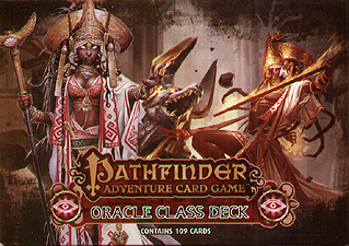 Spirit Games (Est. 1984) - Supplying role playing games (RPG), wargames rules, miniatures and scenery, new and traditional board and card games for the last 20 years sells Pathfinder Adventure Card Game: Oracle Class Deck