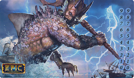 Spirit Games (Est. 1984) - Supplying role playing games (RPG), wargames rules, miniatures and scenery, new and traditional board and card games for the last 20 years sells Epic: Sea Titan Playmat