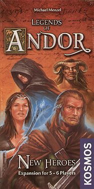 Spirit Games (Est. 1984) - Supplying role playing games (RPG), wargames rules, miniatures and scenery, new and traditional board and card games for the last 20 years sells Legends of Andor: New Heroes
