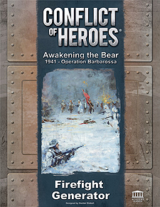 Spirit Games (Est. 1984) - Supplying role playing games (RPG), wargames rules, miniatures and scenery, new and traditional board and card games for the last 20 years sells Conflict of Heroes: Awakening the Bear Firefight Generator