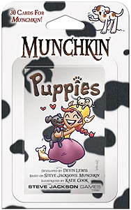 Spirit Games (Est. 1984) - Supplying role playing games (RPG), wargames rules, miniatures and scenery, new and traditional board and card games for the last 20 years sells Munchkin Puppies