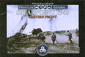 Spirit Games (Est. 1984) - Supplying role playing games (RPG), wargames rules, miniatures and scenery, new and traditional board and card games for the last 20 years sells Frontline General: Spearpoint 1943 Eastern Front