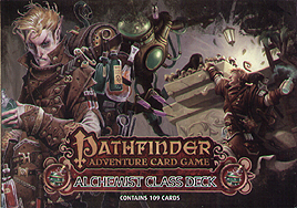 Spirit Games (Est. 1984) - Supplying role playing games (RPG), wargames rules, miniatures and scenery, new and traditional board and card games for the last 20 years sells Pathfinder Adventure Card Game: Alchemist Class Deck