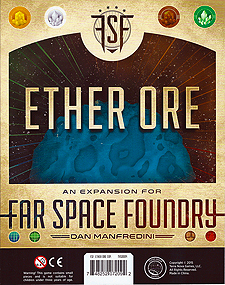 Spirit Games (Est. 1984) - Supplying role playing games (RPG), wargames rules, miniatures and scenery, new and traditional board and card games for the last 20 years sells Far Space Foundry: Ether Ore
