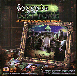 Spirit Games (Est. 1984) - Supplying role playing games (RPG), wargames rules, miniatures and scenery, new and traditional board and card games for the last 20 years sells Secrets of the Lost Tomb 2nd Edition