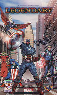 Spirit Games (Est. 1984) - Supplying role playing games (RPG), wargames rules, miniatures and scenery, new and traditional board and card games for the last 20 years sells Legendary Marvel: Captain America 75th Anniversary