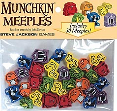Spirit Games (Est. 1984) - Supplying role playing games (RPG), wargames rules, miniatures and scenery, new and traditional board and card games for the last 20 years sells Munchkin Meeples