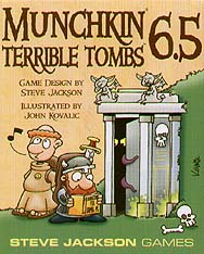 Spirit Games (Est. 1984) - Supplying role playing games (RPG), wargames rules, miniatures and scenery, new and traditional board and card games for the last 20 years sells Munchkin Expansion 6.5 Terrible Tombs