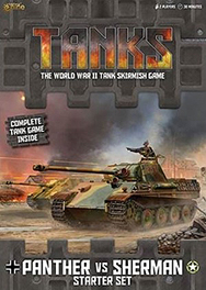 Spirit Games (Est. 1984) - Supplying role playing games (RPG), wargames rules, miniatures and scenery, new and traditional board and card games for the last 20 years sells Tanks: Panther vs Sherman Starter Set