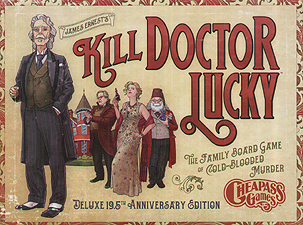 Spirit Games (Est. 1984) - Supplying role playing games (RPG), wargames rules, miniatures and scenery, new and traditional board and card games for the last 20 years sells Kill Doctor Lucky Deluxe 19.5th Anniversary Edition
