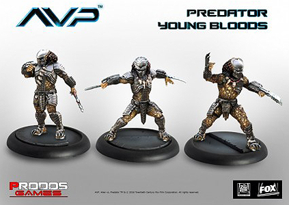 Spirit Games (Est. 1984) - Supplying role playing games (RPG), wargames rules, miniatures and scenery, new and traditional board and card games for the last 20 years sells Alien vs Predator: Predator Young Bloods (3)