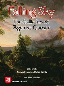 Spirit Games (Est. 1984) - Supplying role playing games (RPG), wargames rules, miniatures and scenery, new and traditional board and card games for the last 20 years sells Falling Sky: The Gallic Revolt Against Caesar  (COIN Series Volume VI)