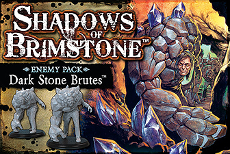 Spirit Games (Est. 1984) - Supplying role playing games (RPG), wargames rules, miniatures and scenery, new and traditional board and card games for the last 20 years sells Shadows of Brimstone: Dark Stone Brutes Enemy Pack