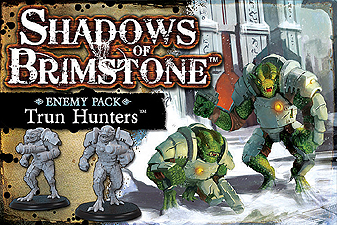Spirit Games (Est. 1984) - Supplying role playing games (RPG), wargames rules, miniatures and scenery, new and traditional board and card games for the last 20 years sells Shadows of Brimstone: Trun Hunters Enemy Pack