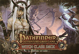 Spirit Games (Est. 1984) - Supplying role playing games (RPG), wargames rules, miniatures and scenery, new and traditional board and card games for the last 20 years sells Pathfinder Adventure Card Game: Witch Class Deck