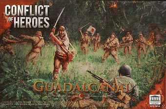 Spirit Games (Est. 1984) - Supplying role playing games (RPG), wargames rules, miniatures and scenery, new and traditional board and card games for the last 20 years sells Conflict of Heroes: Guadalcanal