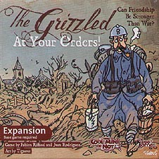 Spirit Games (Est. 1984) - Supplying role playing games (RPG), wargames rules, miniatures and scenery, new and traditional board and card games for the last 20 years sells The Grizzled: At Your Orders!