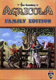 Spirit Games (Est. 1984) - Supplying role playing games (RPG), wargames rules, miniatures and scenery, new and traditional board and card games for the last 20 years sells Agricola Family Edition