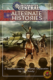 Spirit Games (Est. 1984) - Supplying role playing games (RPG), wargames rules, miniatures and scenery, new and traditional board and card games for the last 20 years sells Quartermaster General: Alternate Histories