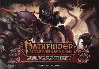 Spirit Games (Est. 1984) - Supplying role playing games (RPG), wargames rules, miniatures and scenery, new and traditional board and card games for the last 20 years sells Pathfinder Adventure Card Game: Goblins Fight Deck