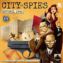 Spirit Games (Est. 1984) - Supplying role playing games (RPG), wargames rules, miniatures and scenery, new and traditional board and card games for the last 20 years sells City of Spies: Estoril 1942