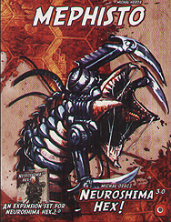 Spirit Games (Est. 1984) - Supplying role playing games (RPG), wargames rules, miniatures and scenery, new and traditional board and card games for the last 20 years sells Neuroshima HEX! 3.0: Mephisto