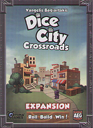 Spirit Games (Est. 1984) - Supplying role playing games (RPG), wargames rules, miniatures and scenery, new and traditional board and card games for the last 20 years sells Dice City: Crossroads