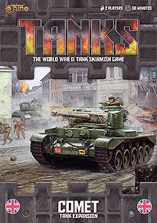Spirit Games (Est. 1984) - Supplying role playing games (RPG), wargames rules, miniatures and scenery, new and traditional board and card games for the last 20 years sells Tanks: Comet Expansion