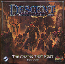 Spirit Games (Est. 1984) - Supplying role playing games (RPG), wargames rules, miniatures and scenery, new and traditional board and card games for the last 20 years sells Descent: Journeys in the Dark Second Edition  - The Chains That Rust Expansion