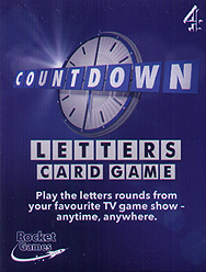 Spirit Games (Est. 1984) - Supplying role playing games (RPG), wargames rules, miniatures and scenery, new and traditional board and card games for the last 20 years sells Countdown Letters Card Game