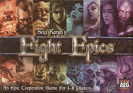 Spirit Games (Est. 1984) - Supplying role playing games (RPG), wargames rules, miniatures and scenery, new and traditional board and card games for the last 20 years sells Eight Epics