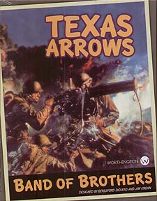 Spirit Games (Est. 1984) - Supplying role playing games (RPG), wargames rules, miniatures and scenery, new and traditional board and card games for the last 20 years sells Band of Brothers: Texas Arrows