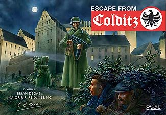 Spirit Games (Est. 1984) - Supplying role playing games (RPG), wargames rules, miniatures and scenery, new and traditional board and card games for the last 20 years sells Escape from Colditz: 75th Anniversary Edition