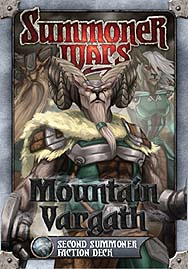 Spirit Games (Est. 1984) - Supplying role playing games (RPG), wargames rules, miniatures and scenery, new and traditional board and card games for the last 20 years sells Summoner Wars: Mountain Vargath Second Summoner Faction Deck