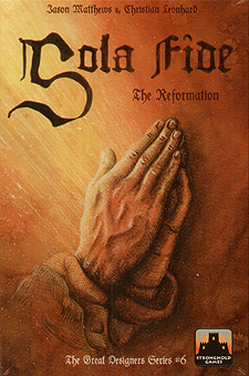 Spirit Games (Est. 1984) - Supplying role playing games (RPG), wargames rules, miniatures and scenery, new and traditional board and card games for the last 20 years sells Sola Fide: The Reformation