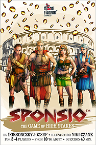 Spirit Games (Est. 1984) - Supplying role playing games (RPG), wargames rules, miniatures and scenery, new and traditional board and card games for the last 20 years sells Sponsio: The Game of High Stakes