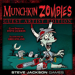 Spirit Games (Est. 1984) - Supplying role playing games (RPG), wargames rules, miniatures and scenery, new and traditional board and card games for the last 20 years sells Munchkin Zombies Guest Artist Edition